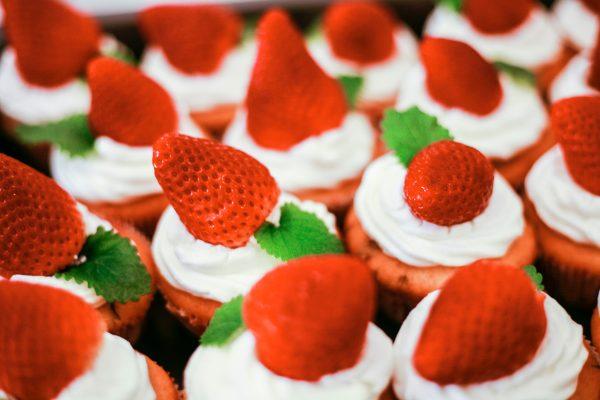 Hokkaido Vanilla cupcake