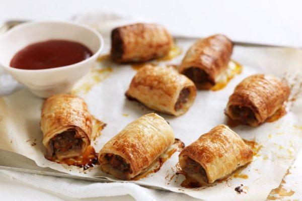 Mini Sausage Rolls (Non-Veg.)