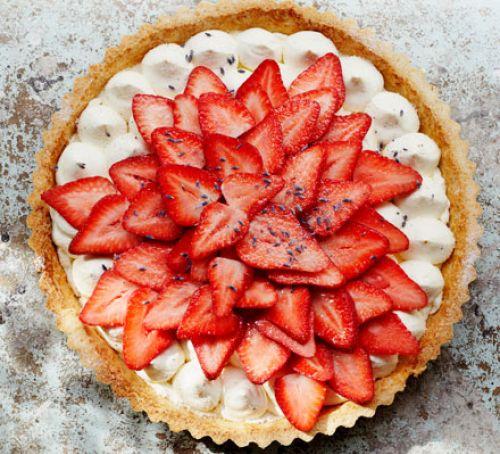 Triple Chocolate strawberry tart