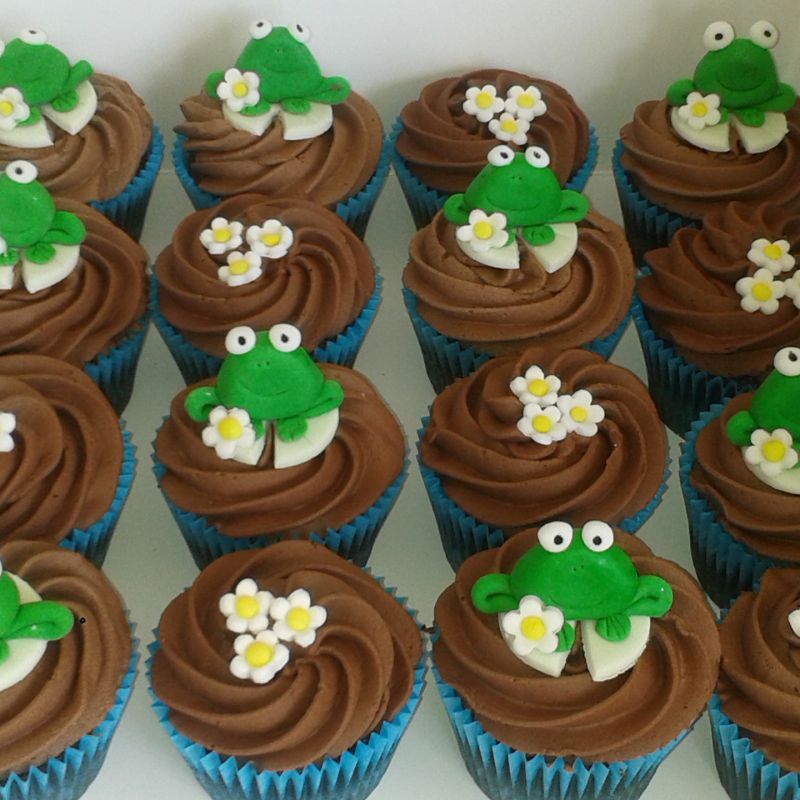 Little-frog-Cupcakes