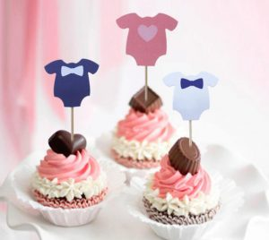 Baby Clothing Cupcakes